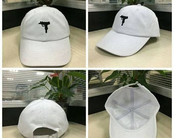 Mini Uzi & Ak-47 Visor Cap Hat Snapback