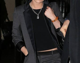 Kristen Stewart Punk Lock necklace