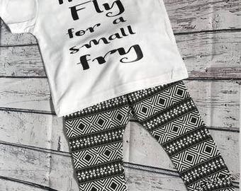 Pretty Fly For A Small Fry Toddler Boy Outfit