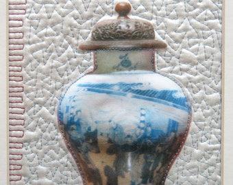 Chinese Vase textile