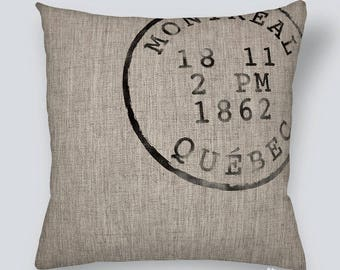 CUSHION - POSTAL STAMP