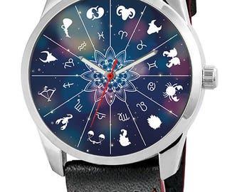 Custom clock with Zodiac