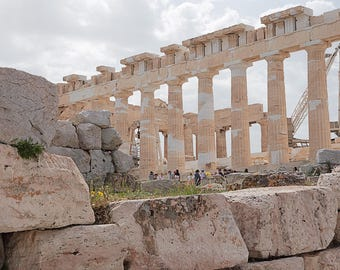 The Greek Ancient Acropolis in Athens, Greece. 2017 (#7104)