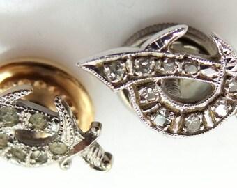 Palladium & Diamonds Shriner's Pin and Sterling Pin