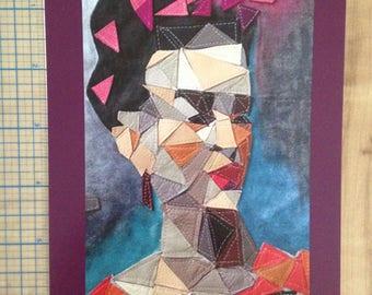 "5 x 7"" art print Frida Kahlo portrait Choose from 3 designs"