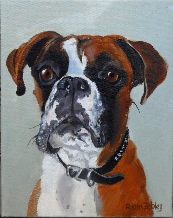Pet Portrait Gift Certificate, Custom Oil Painting, dog or cat