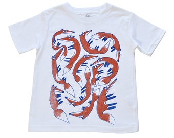 A Leash of Foxes Kids' T-Shirt