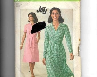Simplicity Misses'  Dress Pattern 7960