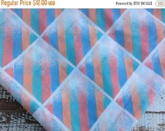 40% OFF- Eighties Bed Sheet-Vintage Twin Flat Sheet-Retro