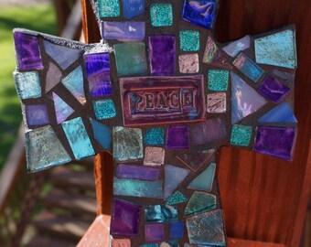 CROSS Mosaic ART  Beautiful colors