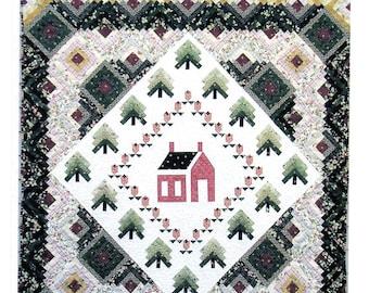 "Pattern:  ""Around The Schoolhouse"" Quilt"