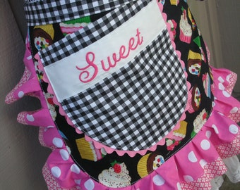 Monogramming - Monogrammed Aprons - This Does Not Include The Apron - Price For The Monogramming Only - Annies Attic Aprons - Etsy Aprons