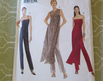 Vogue 7176 Misses Jumpsuit and Tunic sz 14 16 18 UNCUT