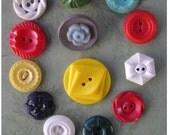 Garden of Flower Buttons