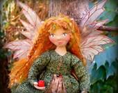 Alora - An OOAK Cloth Fairy Art Doll