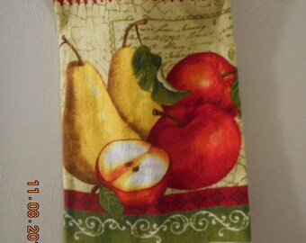 MadieBs Apples and Pears Plastic Bag Holder Dispenser