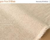 Japanese Fabric Half Linen Solids - natural -  50cm