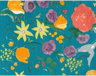 Nani Iro Kokka Japanese Fabric Fuccra : rakuen - El Nido - 50cm