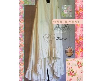 Tina Givens ZELDA SLIP & BLOOMERS Sewing Pattern