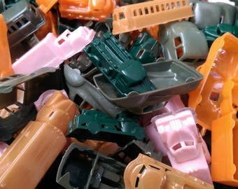 12 x Hollow Vehicles Vintage Dime Store Toys