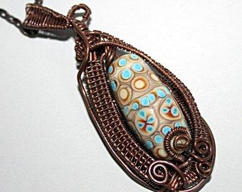 Lampwork Art Bead Jewelry by Jeanniesbeads #1744