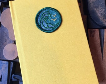 Girl Scout Badge Journal Swimming Badge -  Lined