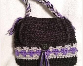 Handmade One Of A Kind Boho Hobo Bag