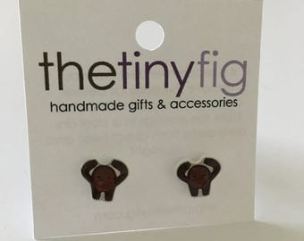 Limited Edition: Gorilla Earrings | Sterling Silver Posts Studs | Gifts For Her