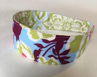 Comfortable Headband-- Washable, Reversible-- Joel Dewberry Heirloom