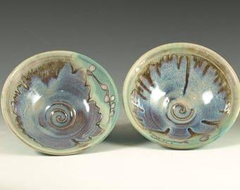 Pair of raice bowls