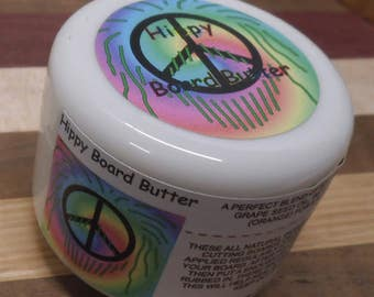 Hippy board butter, board butter, cutting board butter, board conditioner, all natural, food safe, food grade