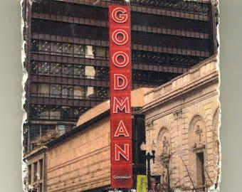 Goodman Theater  - Original Coaster