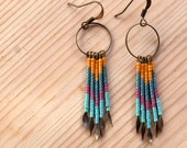 Beaded Fringe Earring - No. 4