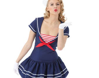 Sewing Pattern-Simplicity 2072-Sexy Witch,Sailor,Cat,Firefighter Costume-Plus Size Out of Print