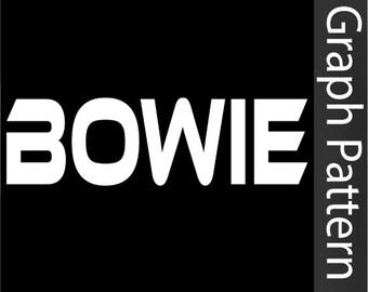 Bowie - Crochet Graph Pattern