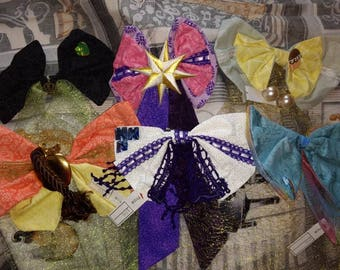 My Little Pony inspired hair bow pack of 6