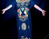 Egyptian Themed Helal Vintage Kaftan