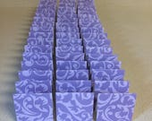 Mini Cards 50 Purple - blank for thank you notes 2 x 2
