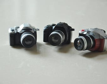 Tiny dollhouse Miniature SLR/DSL Camera /Camera Toys -A