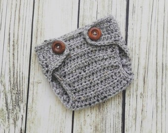 Newborn diaper cover - Baby Diaper Cover - Crochet Diaper Cover - Soaker - Nappy Cover - Photography Prop - newborn photo prop - Baby Prop