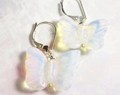 Butterfly earrings - moon...