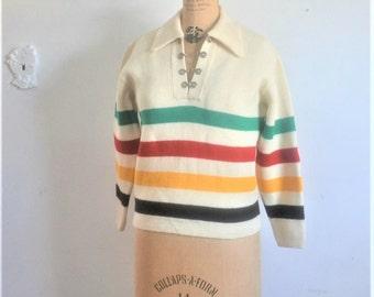 Vintage Hudson Bay Sweater -Hudsons Bay Knit