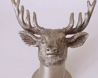 Jugermeister Barware Pewter Stirrup Cup Shooter Shot Glass/Cup Stag/Buck/Deer