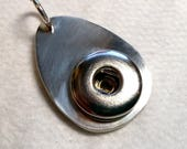 Sterling silver abaco pendant for Carole