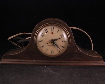 Vintage General Electric Wooden Mantle Clock