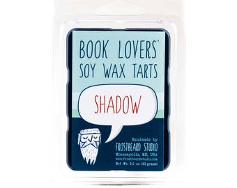 Shadow - Book Candle Tart -  Book Lover Gift - Scented Soy Candle Melt - Frostbeard Studio - 3oz pack