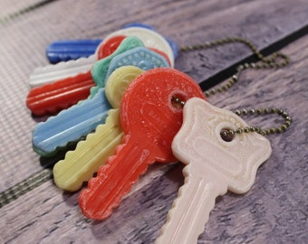 Vintage Baby Rattle Keys