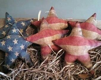 Primitive Americana Star set Bowl Filler