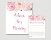 Soft Pink Floral Mommy Ad...