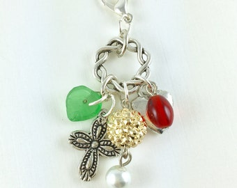 Wordless Book Collection petite charm dangle